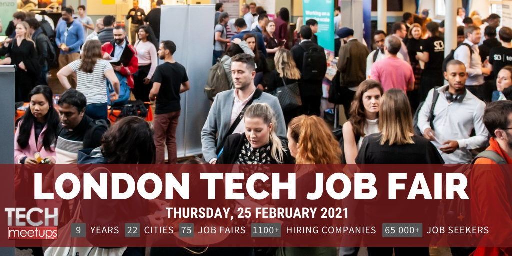 london tech job fair 2021