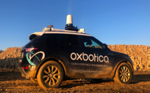 oxbotica driverless car
