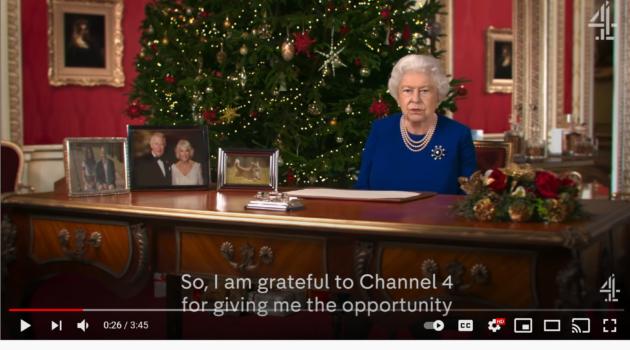 deepfake queens speech