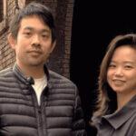 Wing Chan and Shiran Zheng,Co-founders of Sourceful